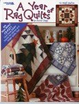 A Year of Rag Quilts