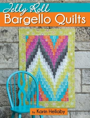 Jelly Roll Bargello Quilts Book 3010