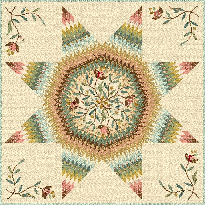 Crystal Star Pattern LBQ 0652P