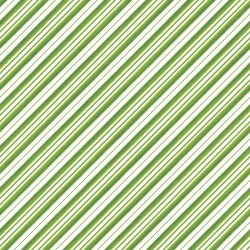 All The Trimmings - Candy Cane Stripe Green 9378 G