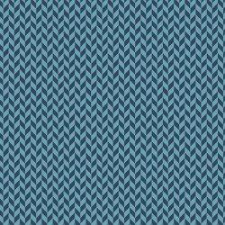 Make Yourself At Home - Navy/Blue  Herringbone Texture 9397 N