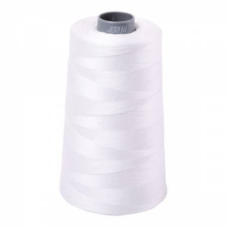 Aurifil Cotton Mako 28wt 2021 Natural White 3609yd Cone
