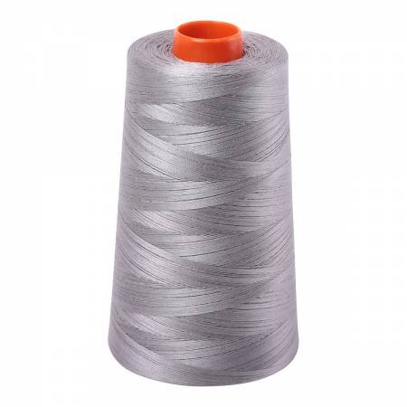 Aurifil Cotton Mako 50wt 2620 Stainless Steel 6452yd Cone