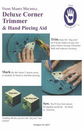 Deluxe Corner Trimmer & Hand Piecing Aid MM8217