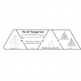 60? Triangle Template Ruler