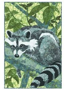 Hoffman Open and Sew Racoon