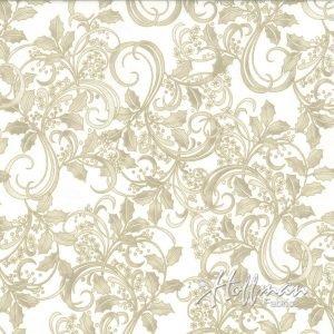Winter Blossom - Natural/Gold P7614 20G