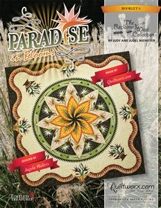 Paradise In Blooms Technique of the Month Queen Extension Book 8