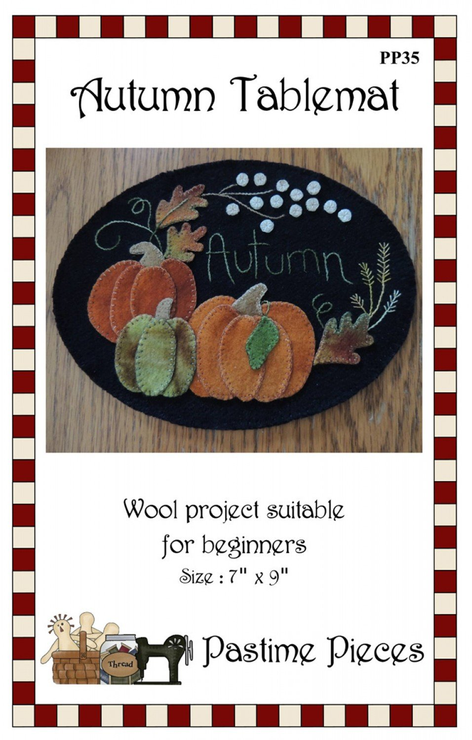 Autumn Tablemat Pattern PP35