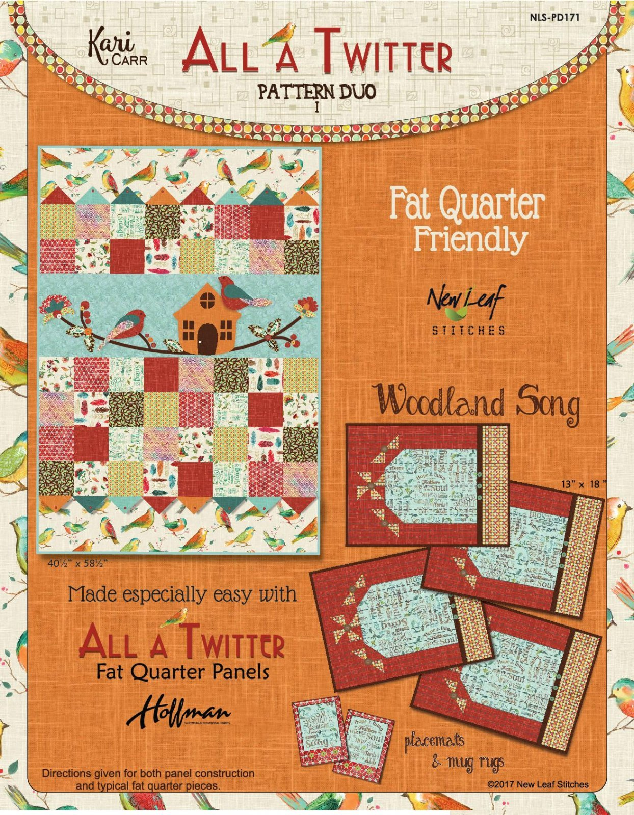 All A Twitter Pattern Duo 1 PD171