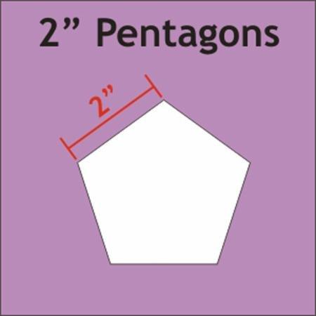 2 Pentagon  - 30 Paper Pieces