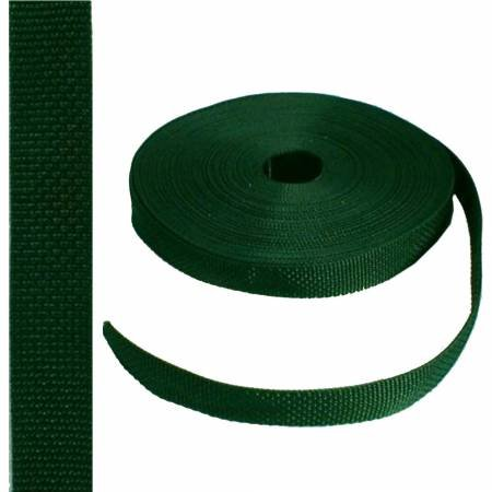 Webbing Poly 1 Forest Green