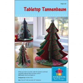 Tabletop Tannenbaum Pattern PQD-197