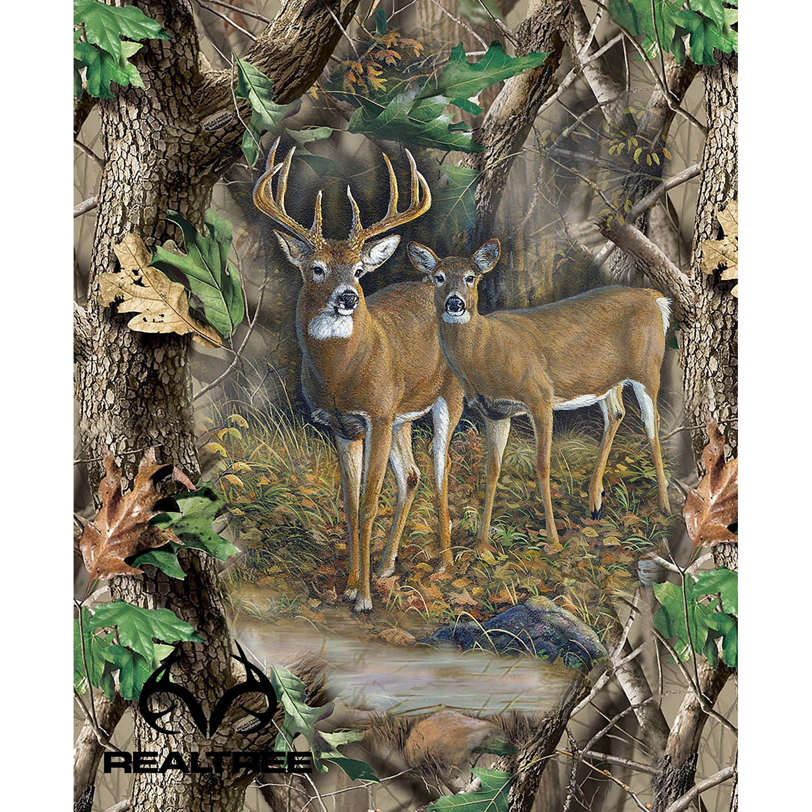 RealTree Buck and Doe Panel # 31