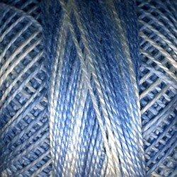 Finca Perle Cotton 880/08-9630 Variegated Delft Blue