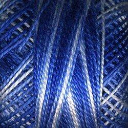 Finca Perle Cotton 880/08-9705 Variegated Royal Blue