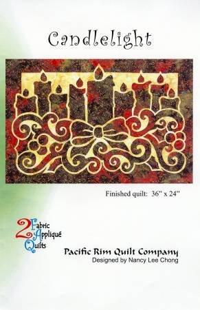 Candlelight Pattern 36 x 24  PRQ2072