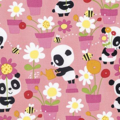 Pandas - Garden Party Pink PWDW133