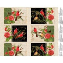 Christmas In The Wildwood - Placemat Panel #64 Multi 33804 239