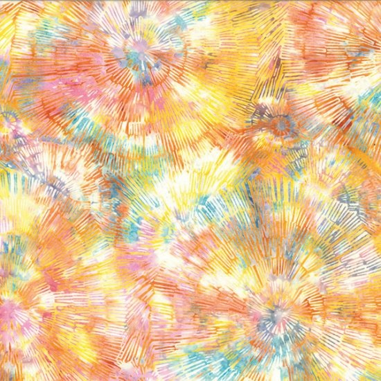 Hoffman Bali Batik - Bark Texture Mimosa Q2130 384