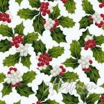 Poinsettia Song - Frost/Silver Q7638 113S