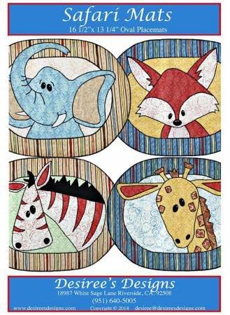 Safari Mats Pattern QA07