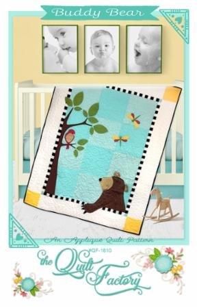Buddy Bear Pattern QF 1810