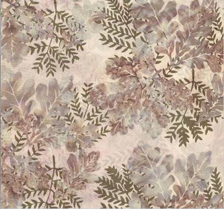 Hoffman Bali Batik - Oak Leaves R2232 459 Lotus