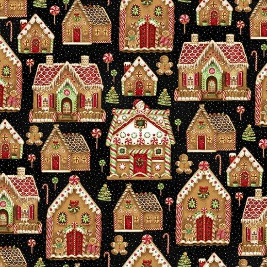 Hoffman Santa's Sweets - Black/Gold S7718 4G