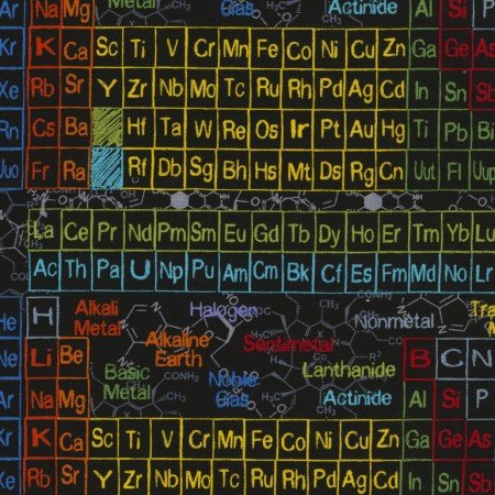 Science - Periodic Table Charcoal C5708 - 840615168012