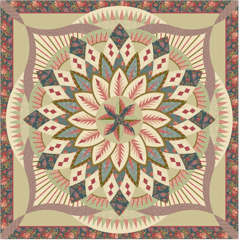 Dinner Plate Dahlia Wall Kit finishes 80 x 80