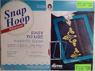 Monster Snap Hoop 7 x 12 LM5