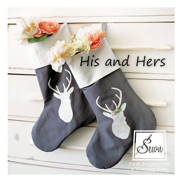 His and Hers Stockings Pattern 5015