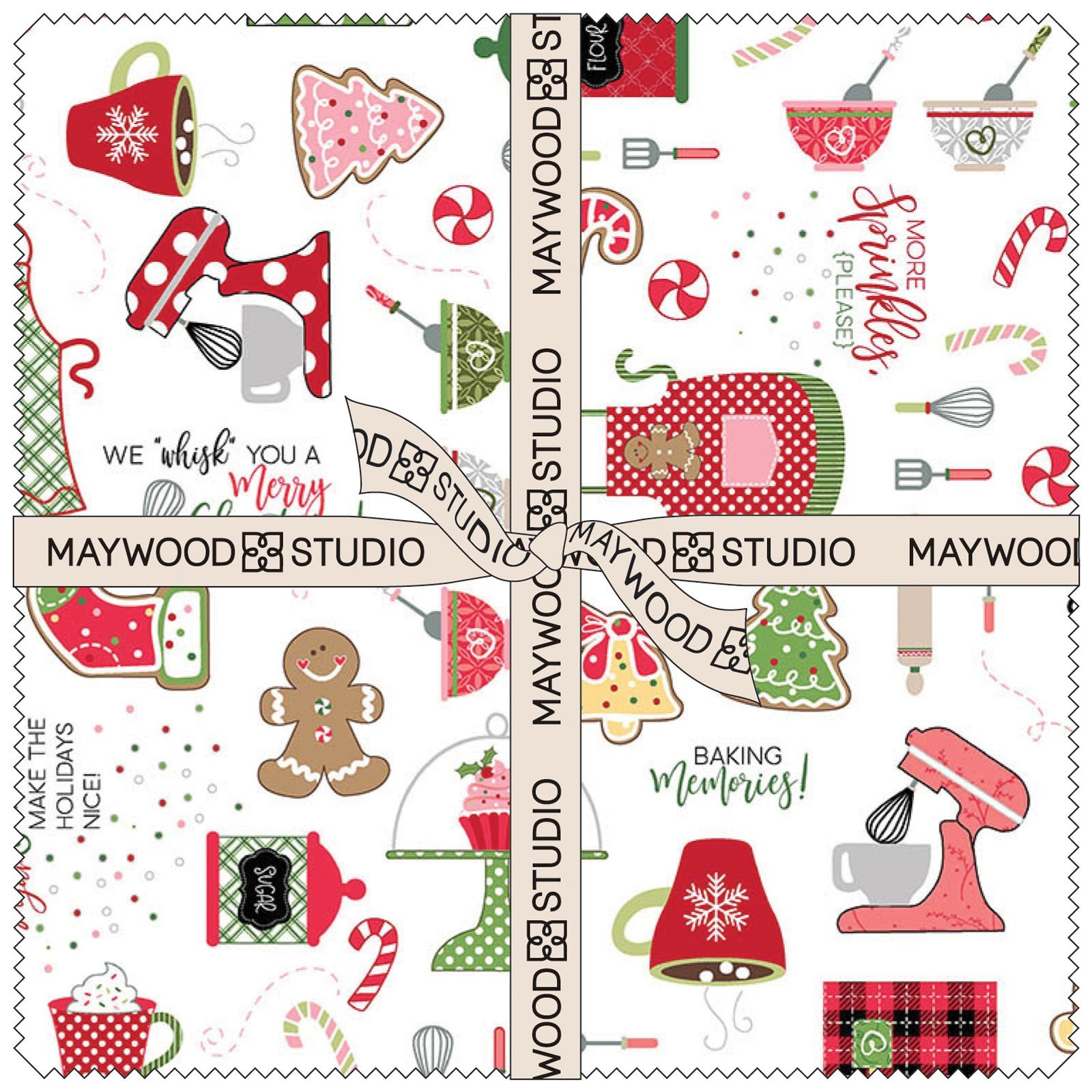 We Whisk You A Merry Christmas Layer Cake SQ-MASWYMC