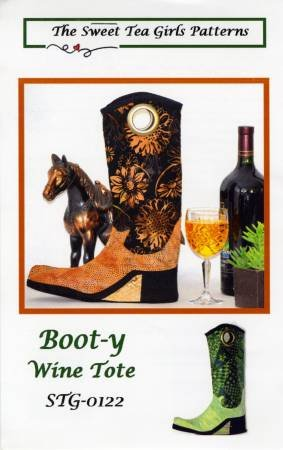 Boot-y Wine Tote Pattern