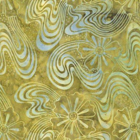 Tonga Peacock Batik - Cosmic Blooms Poison B4161