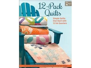 12- Pack Quilts Book