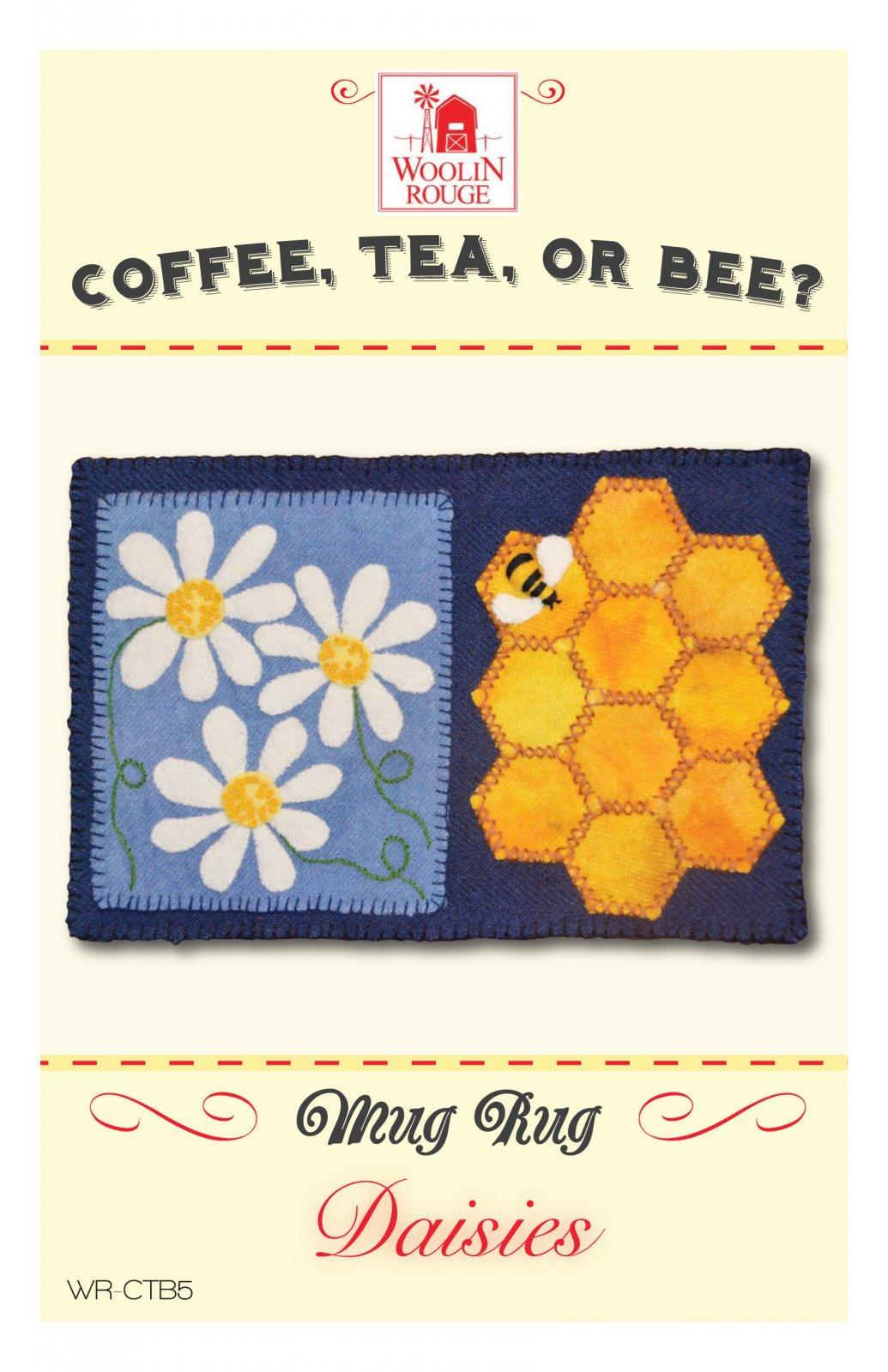 Daisies Mug Rug Pattern
