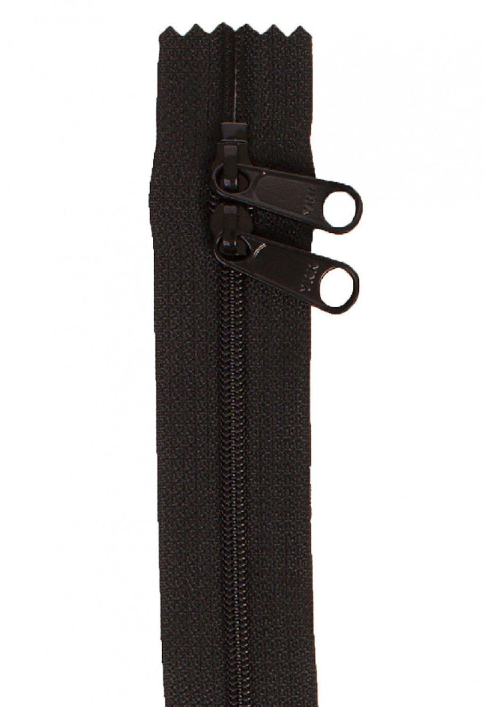 Handbag Zipper 40in Black