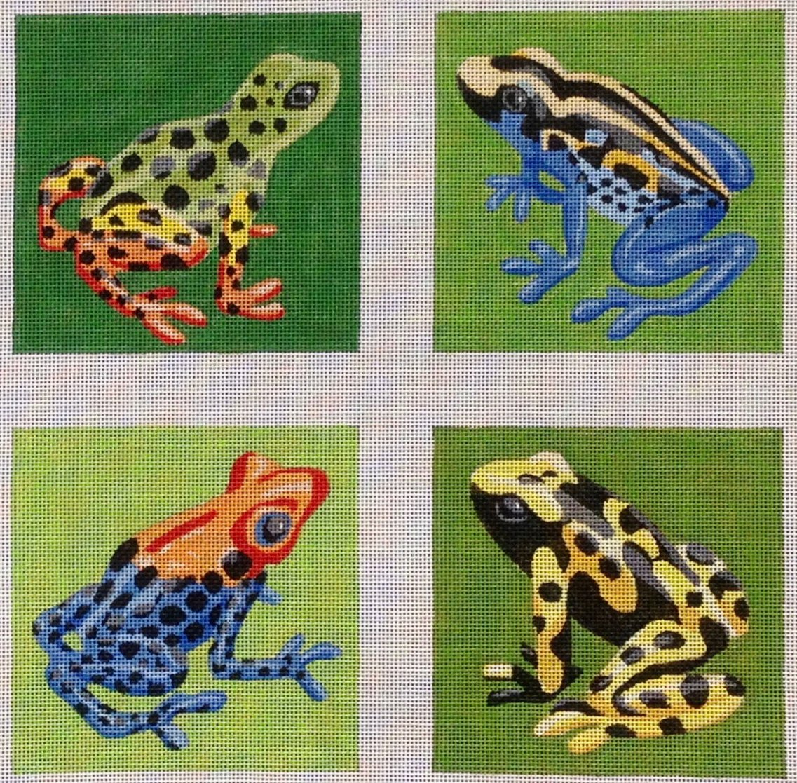 LL123 Frogs Coasters