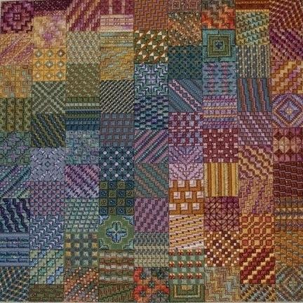 Cobblestones Charted Needlepoint Design