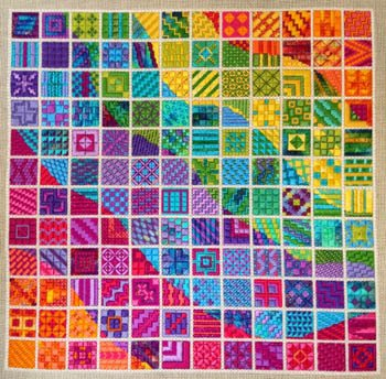 Colorwaves Charted Charted Needlepoint Needle Delights