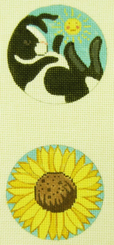 B311B Bunny Sunflower Two-Sided