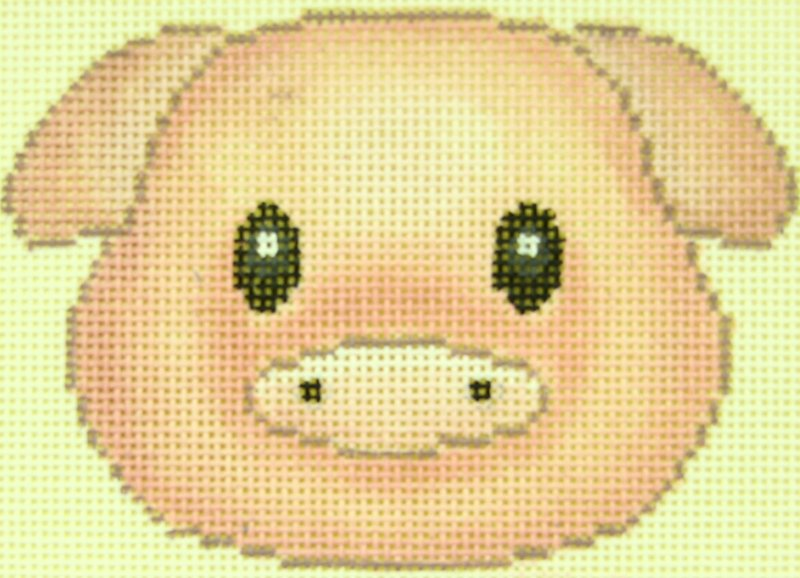 EJ017 Pig Emoticon