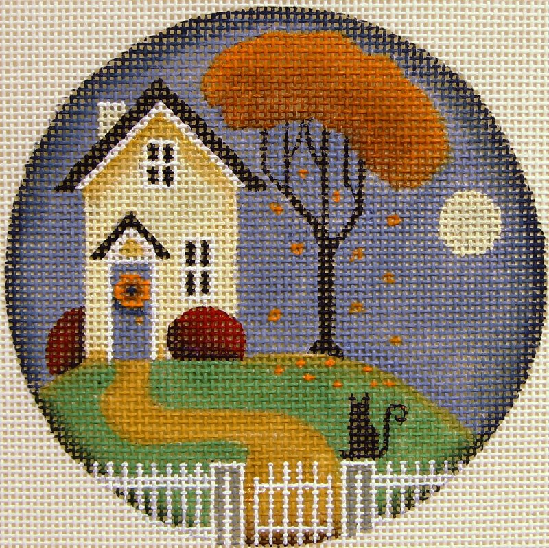 1023C Seasonal Cottage Autumn
