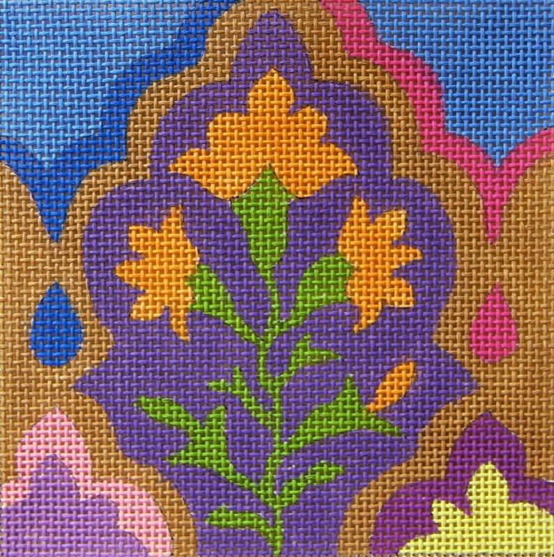 SC960 Tile Arabesque Purple