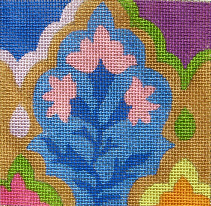 SC958 Tile Arabesque Blue