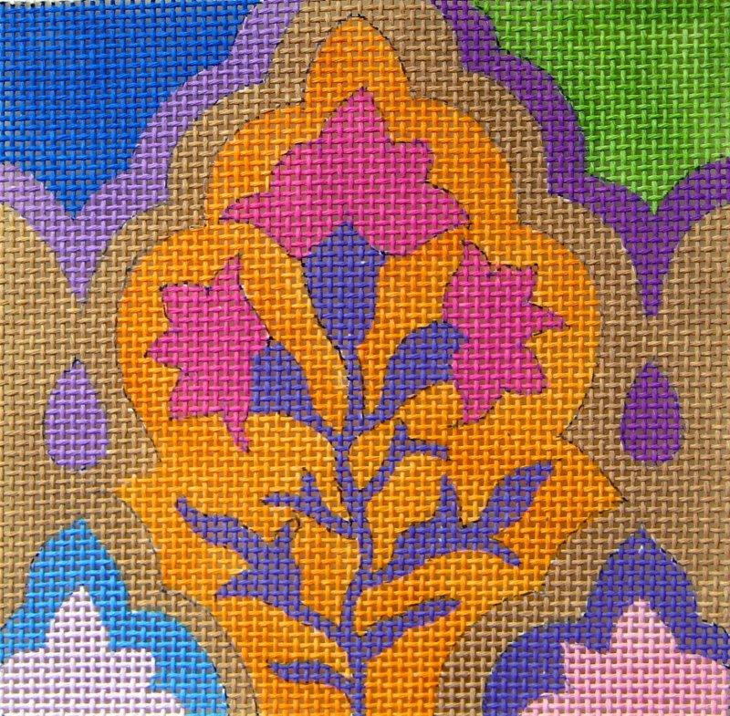 SC961 Tile Arabesque Orange