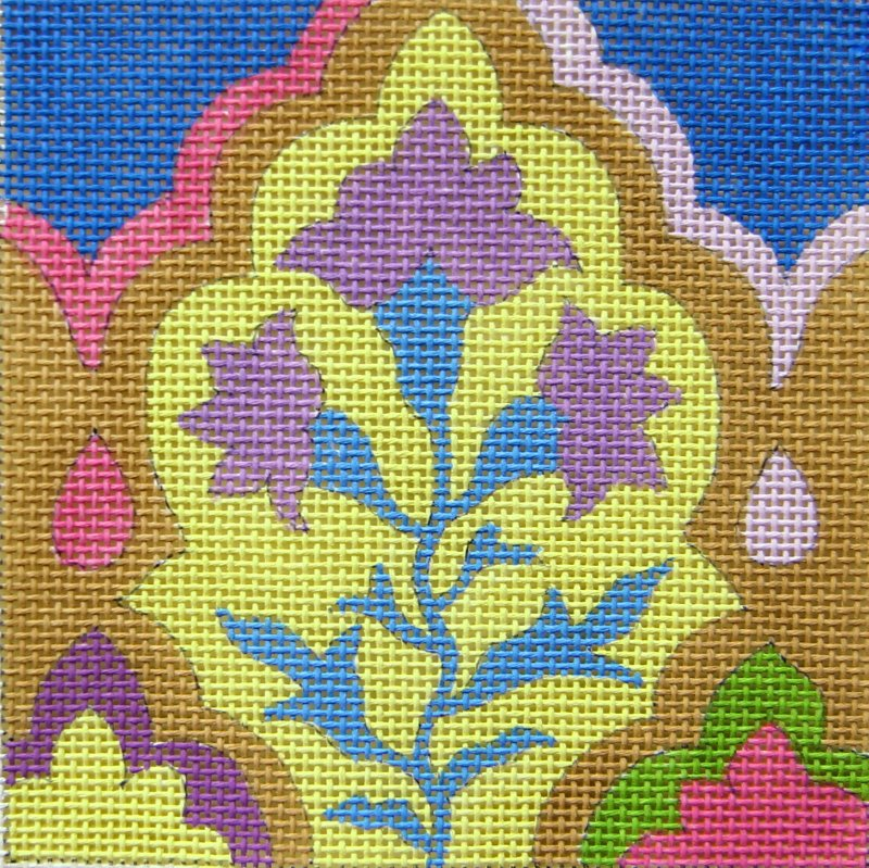 SC956 Tile Arabesque Yellow