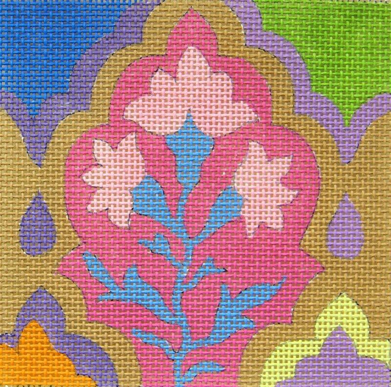 SC957 Tile Arabesque Pink